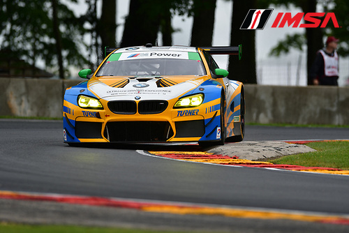 IMSA WeatherTech SportsCar Championship<br /> Continental Tire Road Race Showcase<br /> Road America, Elkhart Lake, WI USA<br /> Friday 4 August 2017<br /> 96, BMW, BMW M6 GT3, GTD, Jesse Krohn, Jens Klingmann<br /> World Copyright: Peter Burke<br /> LAT Images