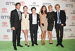 The cast of REVENGE attends The 21st Annual Environmental Media Awards held at at Warner Bros. Studios in Burbank, California on October 15,2011                                                                               © 2011 DVS / Hollywood Press Agency