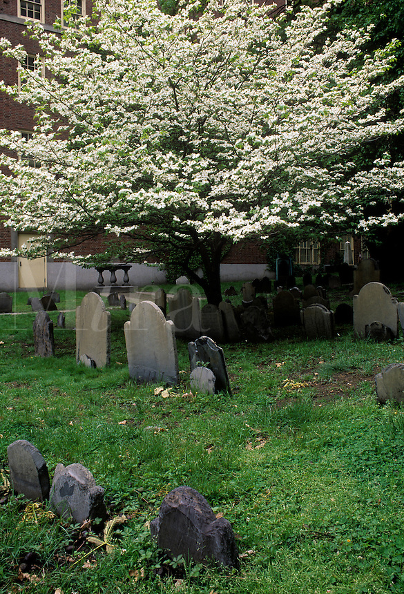 The Granary Burying Ground Boston Massachusetts