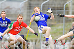 Colm Cooper Kerry in action against Kevin Keane Mayo in the National Football League in Austin Stack Park on Sunday..