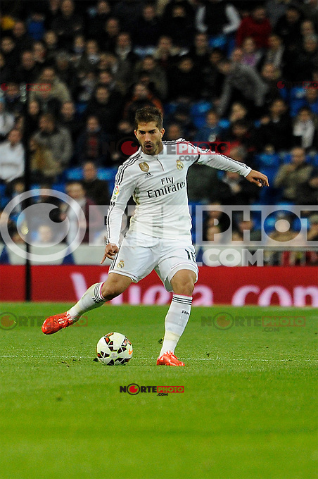 Real Madrid´s Lucas Silva during 2014-15 La Liga match between Real Madrid and Levante UD at Santiago Bernabeu stadium in Madrid, Spain. March 15, 2015. (ALTERPHOTOS/Luis Fernandez) /NORTEphoto.com