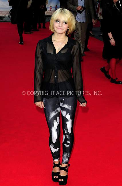 ACEPIXS.COM<br /> <br /> September 22 2014, London<br /> <br /> Romona Marquez arriving at the UK premiere of 'What We Did On Our Holiday' at the Odeon West End on September 22 2014 in London<br /> <br /> By Line: Famous/ACE Pictures<br /> <br /> ACE Pictures, Inc.<br /> www.acepixs.com<br /> Email: info@acepixs.com<br /> Tel: 646 769 0430