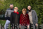 Rita Gauci from Malta meeting her pen-pal Ester Truslove on her first visit to Tralee at Esters home in Kevin Barry Villas and also pen-pal's first visit to Ireland, with her sons Simon and Daniel Cauci on Tuesday morning last.