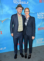 "LOS ANGELES, USA. October 17, 2019: Jonathan Dayton & Valerie Faris at the premiere of ""Living With Yourself"" at the Arclight Theatre, Hollywood.<br /> Picture: Paul Smith/Featureflash"