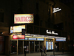 Theatre Marquee unveiling for the new Sara Bareilles Broadway Musical 'Waitress' starring Jessie Mueller at the Brooks Atkinson Theatre on February 1, 2016 in New York City.
