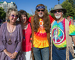 "Carol, Sharron, Martin and John during the Pops on the River ""A night at Woodstock"" concert at Wingfield Park in downtown Reno on Saturday, July 13, 2019."