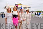 Listowel Races : Attending ladies day at Listowel Races on Sunday last were Marietta Doran, Shauna Lynch, Aoife Hannon & Eilish Stack.