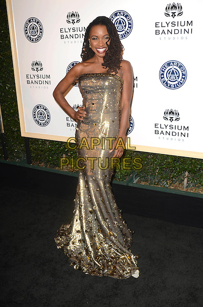LOS ANGELES, CA - JANUARY 7: Shanola Hampton at the The Art Of Elysium Tenth Annual Celebration 'Heaven' Charity Gala at Red Studios in Los Angeles, California on January 7, 2017. <br /> CAP/MPI/DE<br /> &copy;DE/MPI/Capital Pictures