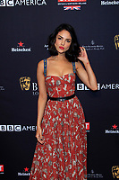LOS ANGELES - JAN 6:  Eiza Gonzalez at the 2018 BAFTA Tea Party Arrivals at the Four Seasons Hotel Los Angeles on January 6, 2018 in Beverly Hills, CA