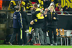 06.12.2011, Signal Iduna Park, Dortmund, GER, UEFA Champions League, Gruppe F, Vorrunde, Borussia Dortmund (GER) vs Olympique Marseille (FRA), im Bild Jubel Kuba (#16 Dortmund) und Jürgen/ Juergen Klopp (Trainer Dortmund) nach dem 1-0 //during the football of UEFA Champions League, Pool F, Borussia Dortmund (GER) vs. Olympique Marseille (FRA) at Signal Iduna Park, Dortmund, GER, on 2011/12/06. EXPA Pictures © 2011, PhotoCredit: EXPA/ nph/ Kurth..***** ATTENTION - OUT OF GER, CRO *****