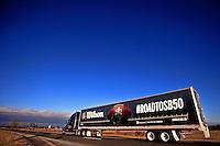 Super 50 Truck Leaving Ada