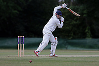 H Kumar of Ilford during Ilford CC (batting) vs Billericay CC, Shepherd Neame Essex League Cricket at Valentines Park on 25th May 2019