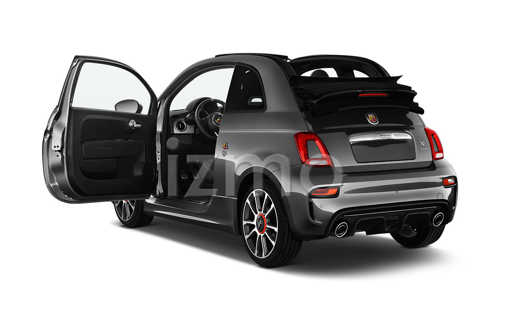 Car images close up view of a 2018 Abarth 595 Turismo Base 2 Door Convertible doors