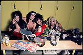 MOTLEY CRUE,  1985, VINCE NEIL, TOMMY LEE, MICK MARS, NIKKI SIXX