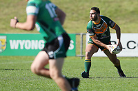 The Wyong Roos play Northern Lakes Warriors in Round 8 of the Open Age Central Coast Rugby League Division at Morry Breen Oval on 27th of May, 2019 in Kanwal, NSW Australia. (Photo by Paul Barkley/LookPro)