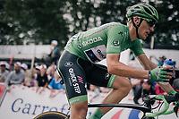 Marcel Kittel (DEU/QuickStep Floors) grabbing a last bidon up the Mur de Péguère (Cat1/1375m/9.3km/7.9%)<br /> <br /> 104th Tour de France 2017<br /> Stage 13 - Saint-Girons › Foix (100km)