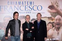 20151126 ROMA-SPETTACOLI: PHOTOCALL 'CHIAMATEMI FRANCESCO  - IL PAPA DELLA GENTE'