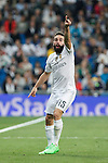 Real Madrid´s Daniel Carvajal during Champions League soccer match between Real Madrid and Shakhtar Donetsk at Santiago Bernabeu stadium in Madrid, Spain. Spetember 15, 2015. (ALTERPHOTOS/Victor Blanco)