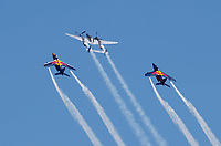 5th July 2020; Red Bull Ring, Spielberg Austria; F1 Grand Prix of Austria, Race Day; A flyover of aircraft