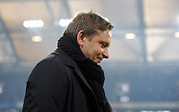 FUSSBALL   1. BUNDESLIGA   SAISON 2011/2012   20. SPIELTAG FC Schalke 04 - FSV Mainz 05                                  04.02.2012 Horst Heldt  (FC Schalke 04)