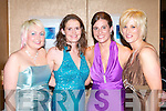 BALL: Enjoying a ball of a time at the ITT Nursing Course graduation ball at the Ballyroe Heights Hotel on Thursday l-r: Gillian McCarthy, Karen Riney, Siobhan Wharton O'Sullivan and Orla O'Hare.   Copyright Kerry's Eye 2008