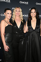 CULVER CITY, CA - MARCH 7: Eva Mauro, Elisabeth Rohm and Katrina Law pictured at Crackle's The Oath Premiere at Sony Pictures Studios in Culver City, California on March 7, 2018. <br /> CAP/MPIFS<br /> &copy;MPIFS/Capital Pictures