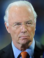 FUSSBALL   CHAMPIONS LEAGUE   SAISON 2011/2012  Achtelfinale Rueckspiel 14.03.2012 Real Madrid  - ZSKA Moskau  TV Experte Franz Beckenbauer