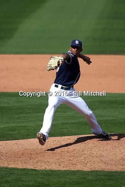 Jose Torres - San Diego Padres 2016 spring training (Bill Mitchell)