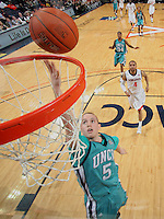 Virginia beat UNC Wilmington 69-67 Monday Jan. 18, 2010 in Charlottesville, Va. UNC Wilmington's Chad Tomko (Photo/The Daily Progress/Andrew Shurtleff)