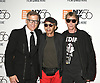 Mark Bozek, Stephen Burrows and Dustin Pittman attend &quot;The Times of Bill Cunningham&quot;  World Premiere on October 11, 2018 at the 56th New York Film Festival in New York City, New York, USA.<br /> <br /> photo by Robin Platzer/Twin Images<br />  <br /> phone number 212-935-0770