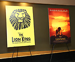 "Posters at the Broadway screening of the Motion Picture Release of ""The Lion King"" at AMC Empire 25 on July 15, 2019 in New York City."