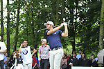 Dustin Johnson (USA) tees off on the par3 17th tee during Day 1 of the BMW International Open at Golf Club Munchen Eichenried, Germany, 23rd June 2011 (Photo Eoin Clarke/www.golffile.ie)
