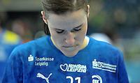 10.11.2013 Handball Frauen CL HC Leipzig vs. Metz @ Arena Leipzig