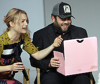 NEW YORK, NY November 09:Alison Sudol, Dan Fogler at Apple presents Meet the Cast of Fantastic Beasts and Where to Find Them at Apple Soho  in New York .November 09, 2016. Credit:RW/MediaPunch
