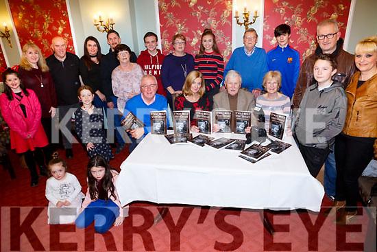 John Cleary launches his 2nd book  'Twas only like Yesterday' (archive of images from the 1980's) Pictured here with family and friends  in the Imperial Hotel on Tuesday
