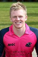 Sam Robson in the Middlesex Friends Life Twenty 20 Kit - Middlesex County Cricket Club Press Day at Lords Cricket Ground, London - 08/04/13 - MANDATORY CREDIT: Rob Newell/TGSPHOTO - Self billing applies where appropriate - 0845 094 6026 - contact@tgsphoto.co.uk - NO UNPAID USE.