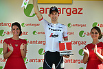 Bauke Mollema (NED) Trek-Segafredo wins Stage 15 and the day's combativity award of the 104th edition of the Tour de France 2017, running 189.5km from Laissac-Severac l'Eglise to Le Puy-en-Velay, France. 16th July 2017.<br /> Picture: ASO/Pauline Ballet | Cyclefile<br /> <br /> <br /> All photos usage must carry mandatory copyright credit (&copy; Cyclefile | ASO/Pauline Ballet)