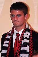 DC United defender Perry Kitchen, at the 2011 Season Kick off Luncheon, at the Marriott Hotel in Washington DC, Wednesday March 16 2011.
