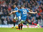 07.04.2018 Rangers v Dundee:<br /> Jamie Murphy scores goal no 3 for Rangers