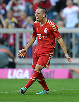 FUSSBALL   1. BUNDESLIGA  SAISON 2012/2013   7. Spieltag FC Bayern Muenchen - TSG Hoffenheim    06.10.2012 Jubel nach dem Tor zum 2:0 Franck Ribery (FC Bayern Muenchen)