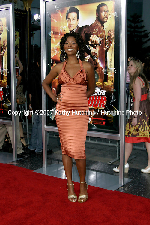 "Vanessa Williams (Melrose Place).""Rush Hour 3"" Premiere.Grauman's Chinese.Los Angeles, CA.July 30, 2007.©2007 Kathy Hutchins / Hutchins Photo...."