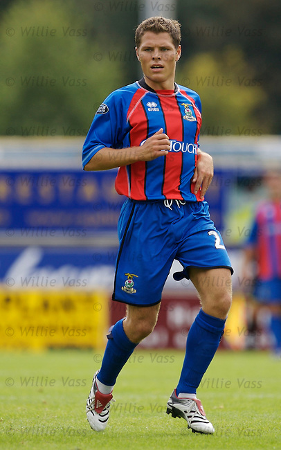 John Rankin, Inverness Caledonian Thistle.stock season 2006-2007.pic willie vass