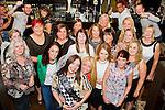 Bridgette Estridge (front, centre) has her hen party in the Pheasant.<br /> Picture: Shane Maguire / Newsfile.ie