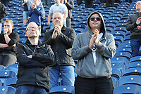 Preston North End fans applaud their team at the final whistle <br /> <br /> Photographer Kevin Barnes/CameraSport<br /> <br /> The EFL Sky Bet Championship - Preston North End v Sheffield United - Saturday 6th April 2019 - Deepdale Stadium - Preston<br /> <br /> World Copyright © 2019 CameraSport. All rights reserved. 43 Linden Ave. Countesthorpe. Leicester. England. LE8 5PG - Tel: +44 (0) 116 277 4147 - admin@camerasport.com - www.camerasport.com