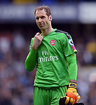 Petr Cech of Arsenal looks dejected at the end of the match. English Premier League match at the White Hart Lane Stadium, London. Picture date: April 30th, 2017.Pic credit should read: Robin Parker/Sportimage