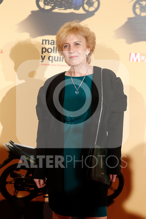 Spanish actress Marisa Paredes during the premiere of the documentary film about African women in Spain 'Manzanas, Pollos y Quimeras - Apples, Chicken and Chimeras' by Spanish director Ines Paris.October 29,2013. (ALTERPHOTOS/Acero)