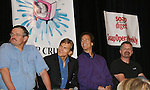 Jordan Clarke - Grant Aleksander - Bradley Cole - Frank Dicopoulos - So Long Springfield celebrating 7 wonderful decades of Guiding Light Event (Saturday afternoon) come to see fans at the Hyatt Regency Pittsburgh International Airport, in Pittsburgh, PA. during the weekend of October 24 and 25, 2009. (Photo by Sue Coflin/Max Photos)