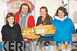 Attending the Food for Thought food fair at IT Tralee on Wednesday were l-r: Amber Smith, Maurice Hannon, Michelle Smith and Penny Paszkiewicz,