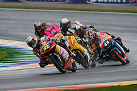 Moto 3 head of the race