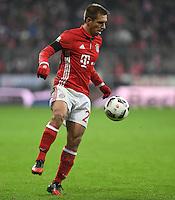 Fussball  1. Bundesliga  Saison 2016/2017  16. Spieltag  FC Bayern Muenchen - RB Leipzig        21.12.2016 Philipp Lahm (FC Bayern Muenchen)